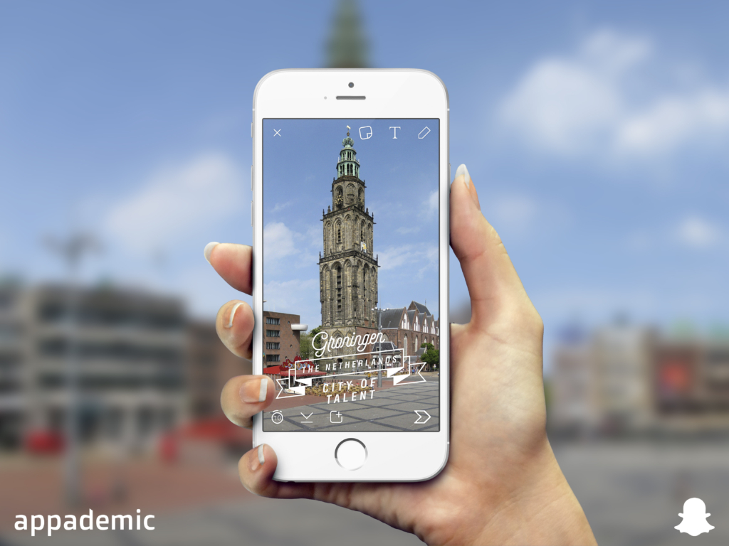 snapchat-city-of-talent-appademic-groningen